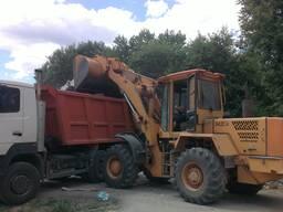 Вывоз мусора строительного, бытового в Витебске. Самосвалом