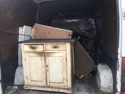 Вывоз строительного мусора и старой мебели, хлама. Грузчики. Транспорт