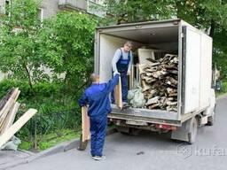 Вывоз строительного мусора (прочего хлама). Грузчики.