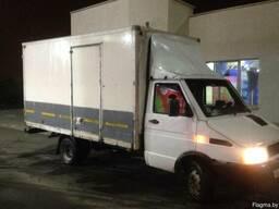 Перевозка грузов до 3 тонн 20м3 Минск - Беларусь.