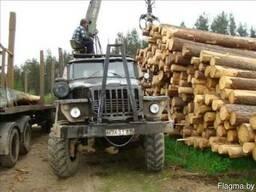 Вывозка древесины с лесосеки на пром-склад