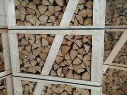 We sell firewood of technical drying from birch and alder