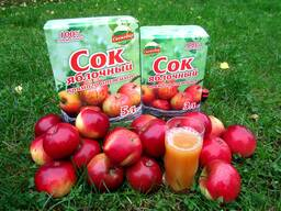 Яблочный сок прямого отжима