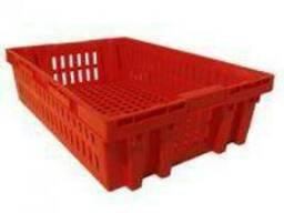Ящик №27; 605х405х152мм. Для мяса, овощей, фруктов.