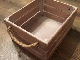 Ящик деревянный для цветов и продуктов
