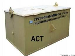 Ящик для мусора 3,5 м3 Строительного самораскрывающийся