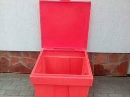 Ящик пластиковый для песка и соли