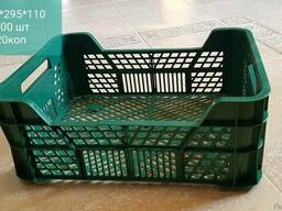 Ящик пластмассовый б/у д транспортировки и хранения овощей ф