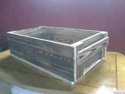 Ящики деревянный декоративный