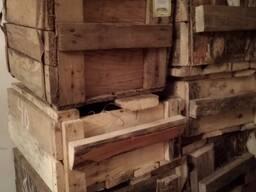 Ящики деревянные с ручками из-под гвоздей (вмещалось 20кг)