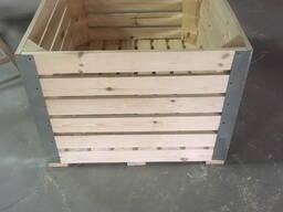 Ящики деревянные для яблок и овощей (Евро-контейнер)