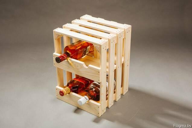 Ящики для хранения вина в бутылках