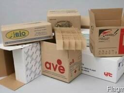 Ящики, лотки, коробки, прокладки из гофрокартона ОПТОМ!