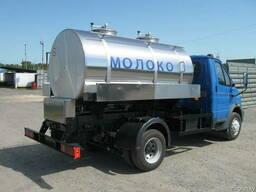 Ёмкость термос для транспортировки молока 2000 литров