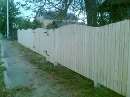 Забор деревянный 1007