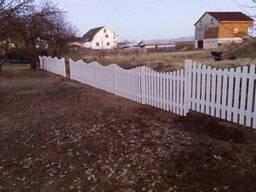 Забор деревянный 1019