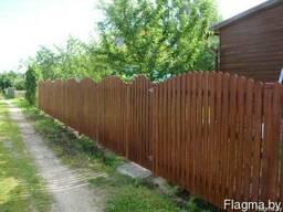 Забор деревянный 1021