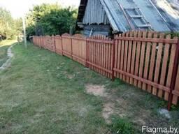 Забор деревянный 1026