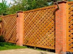 Забор деревянный Z-03