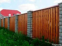 Забор деревянный Z-04