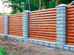 Забор деревянный Z-05
