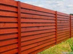 Забор деревянный Z-06