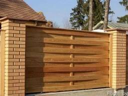 Забор деревянный Z-08