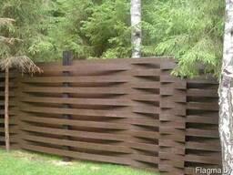 Забор деревянный Z-09