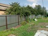 Забор эконом из профнастила под ключ (материалы, доставка, работа) - фото 6