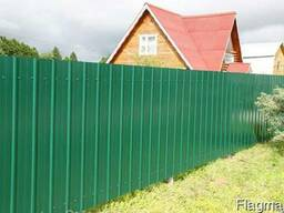 Забор из профнастила, блока, ворота, калитки любой сложности