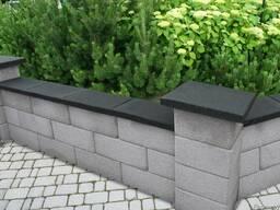 Забор из блоков. Модульный бетонный забор
