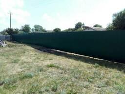 Забор из металлопрофиля (профлиста)
