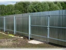 Забор из профнастила - фото 2
