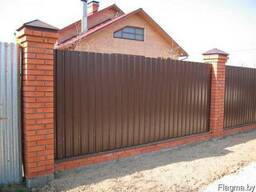 Забор из профнастила - фото 3