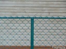 Забор из рабицы под ключ