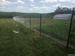 Забор из сетки рабица под ключ в Могилеве!