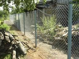 Забор из сетки-рабицы в Могилеве