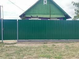 Забор, калитки и ворота из металлопрофиля