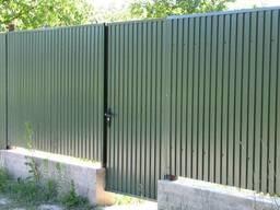 Забор, Калитки из профнастила
