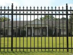 Забор металлический #1