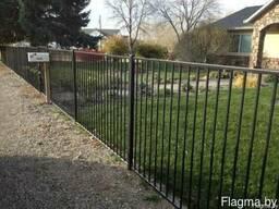 Забор металлический #10