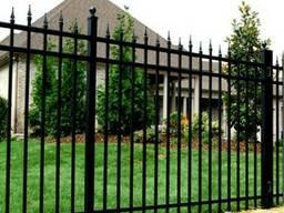 Забор металлический #3
