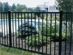Забор металлический #6