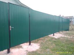 Забор металлический Гомель