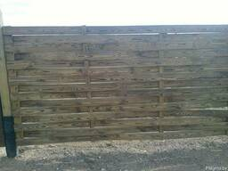 "Забор ""плетень"" - фото 1"