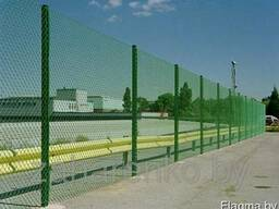 Забор сетка рабица 1,5 м высота