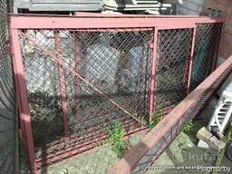 Забор сетка-рабица оцинкован