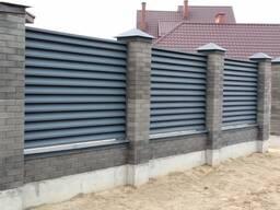 "Забор ""Жалюзи"" глянец двухсторонний"