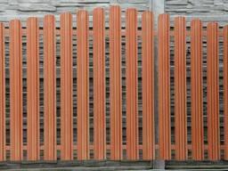 Заборы:металлоштакетник,ворота и калитки, фундамент.