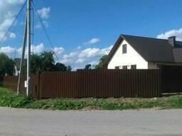Заборы, навесы. козырьки, ворота, калитки . - фото 3